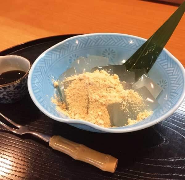 夏季限定わらび餅(冨士屋)