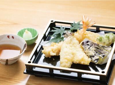 天ぷら小盛