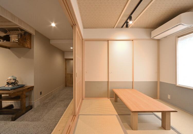 冨士屋の個室